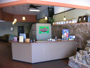 Advantage Automotive Service Counter